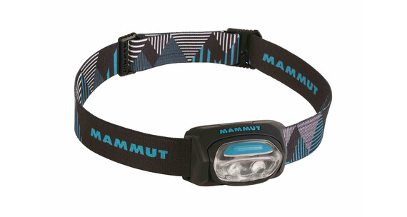 Mammut T-Base - Linterna frontal - azul/negro